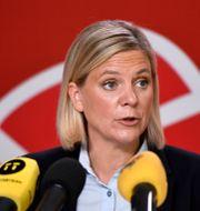 Finansminister Magdalena Andersson. Erik Simander / TT / TT NYHETSBYRÅN