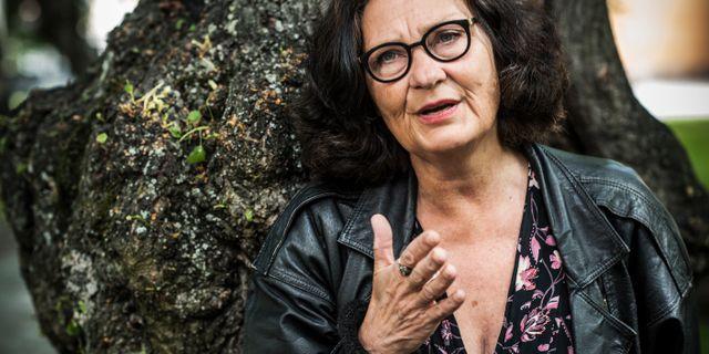 Litteraturprofessorn Ebba Witt-Brattström. Staffan Löwstedt/SvD/TT / TT NYHETSBYRÅN