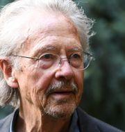 Nobelpristagaren i litteratur, Peter Handke.  ALAIN JOCARD / AFP