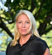 Johanna Jaara Åstrand, ordförande i Lärarförbundet. Anders Wiklund/TT / TT NYHETSBYRÅN