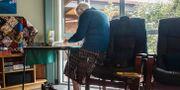 Äldre kvinna på ett äldreboende i Nya Zeeland. Martina Holmberg / TT / TT NYHETSBYRÅN