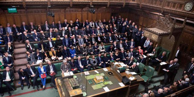 Brittiska underhuset. JESSICA TAYLOR / UK PARLIAMENT