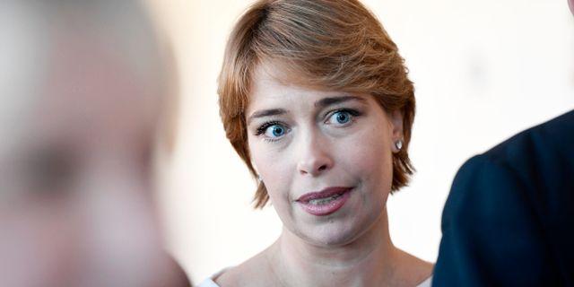Socialförsäkringsminister Annika Strandhäll (S). Arkivbild. Stina Stjernkvist/TT / TT NYHETSBYRÅN