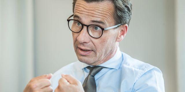 Ulf Kristersson. Lars Pehrson/SvD/TT / TT NYHETSBYRÅN