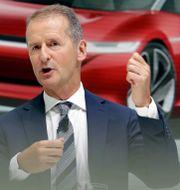 VW-vd:n Herbert Diess. Arkivbild. Michael Sohn / TT NYHETSBYRÅN/ NTB Scanpix