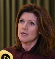 Arbetsmarknadsminister Eva Nordmark.  Thommy Tengborg/TT / TT NYHETSBYRÅN