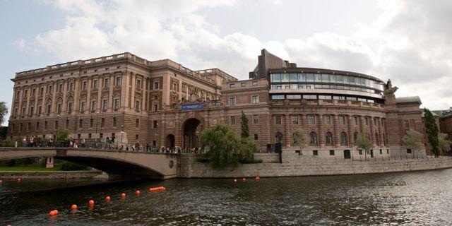 Sveriges riksdag HENRIK MONTGOMERY / TT / TT NYHETSBYRÅN