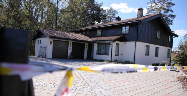 Anne-Elisabeth Hagens hus. Ørn E. Borgen / TT NYHETSBYRÅN