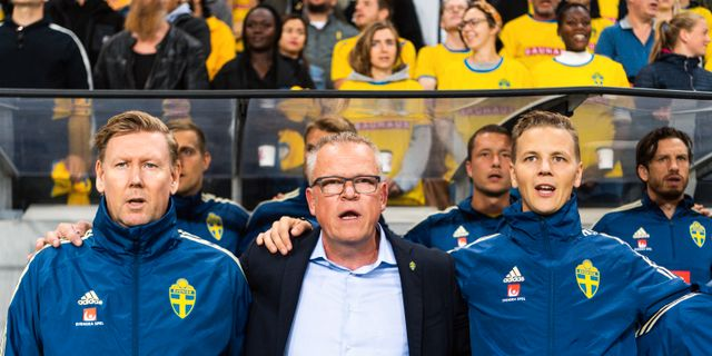 Janne Andersson i samband med matchen mot Norge. JOEL MARKLUND / BILDBYRÅN