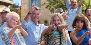 Pierce Brosnan och Amanda Seyfried i Mamma Mia! Here we go again. Jonathan Prime/Universal Studios.