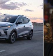 """Arkivbilder: GM-chefen Mandy Barra och Chevrolet Bolt EUV, utrustad med """"Super Cruise""""-systemet TT"""