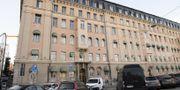 Lundins kontor på Hovslagargatan i Stockholm. TT.