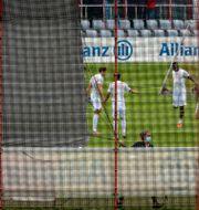 FC Bayern München tränade i München i söndags.  Peter Kneffel / TT NYHETSBYRÅN