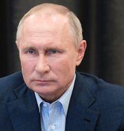 USA:s utrikesminister Mike Pompeo/Vladimir Putin TT