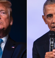 Donald Trump/Barack Obama. TT