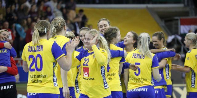 Sveriges damlandslag i handboll. Arkivbild. Christine Olsson/TT / TT NYHETSBYRÅN