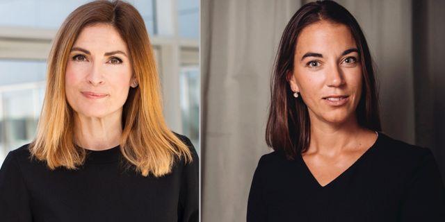 Sparekonomerna Emma Persson och Johanna Kull.  Länsförsäkringar och TT