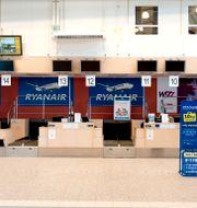 Arkivbild. Skavsta flygplats.  PONTUS LUNDAHL / TT / TT NYHETSBYRÅN