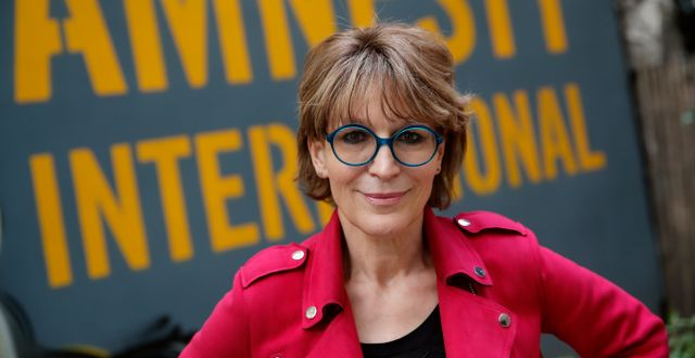 Amnestys generalsekreterare Agnes Callamard. Christophe Ena / TT NYHETSBYRÅN