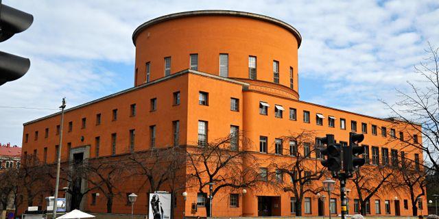 Stadsbiblioteket Hasse Holmberg / TT / TT NYHETSBYRÅN