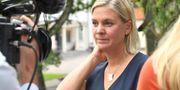 Magdalena Andersson på Harpsund förra året.  Henrik Montgomery/TT / TT NYHETSBYRÅN