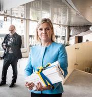 Finansminister Magdalena Andersson (S). Magnus Hjalmarson Neideman/SvD/TT / TT NYHETSBYRÅN
