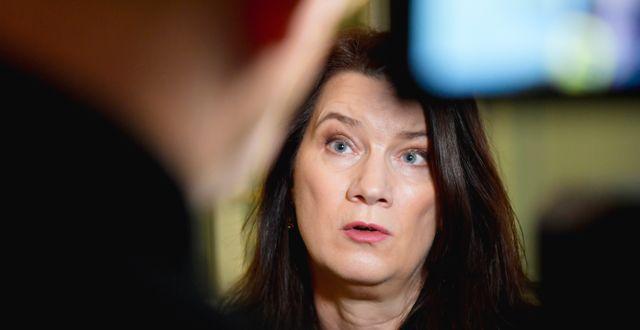 Ann Linde. Anders Wiklund/TT / TT NYHETSBYRÅN