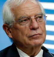 Josep Borrell / Tomma bänkrader i Hongkongs parlament på torsdagen TT
