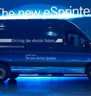 Mercedes modell eSprinter. Bernd Thissen / TT NYHETSBYRÅN