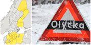 Arkivbild Skärmdump SMHI / TT