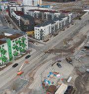 Illustrationsbild: Stockholms nya stadsdel Barkarbystaden.  Fredrik Sandberg/TT / TT NYHETSBYRÅN