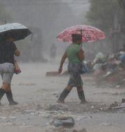 Bild från Honduras. Delmer Martinez / TT NYHETSBYRÅN