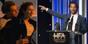 """DiCaprio och Winslet i """"Titanic (t v), McConaughey (t h) TT"""