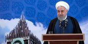 Bild på Rouhani som publicerats av iranska myndigheter.  TT NYHETSBYRÅN