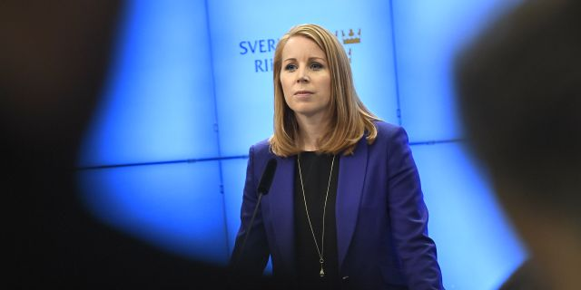 Centerns partiledare Annie Lööf. Arkivbild. Claudio Bresciani/TT / TT NYHETSBYRÅN