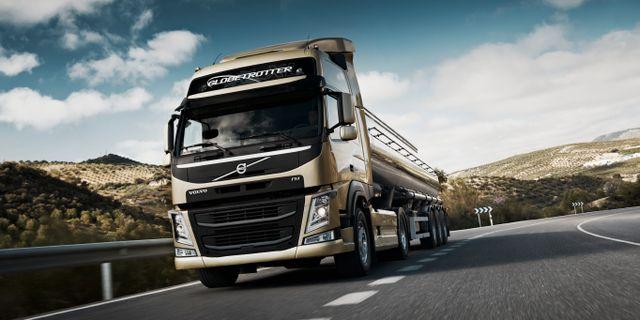 Pressbild från AB Volvo. Volvo Lastvagnar