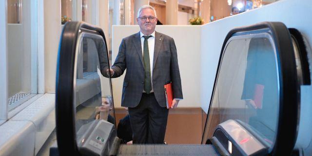Anders W Jonsson förra veckan. Janerik Henriksson/TT / TT NYHETSBYRÅN