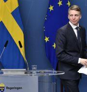 Magdalena Andersson (S) och Per Bolund (MP). Henrik Montgomery /TT / TT NYHETSBYRÅN