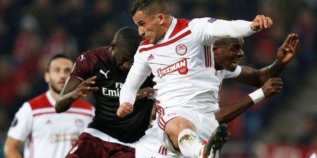 Milan vann efter en tveksam straff
