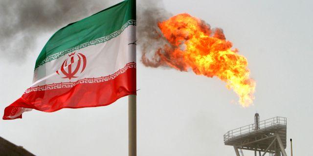 Oljeproduktion vid Soroush-fältet i Iran. Raheb Homavandi / X01475