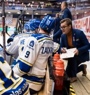 Spelare på Leksands bänk. DANIEL ERIKSSON / BILDBYRÅN