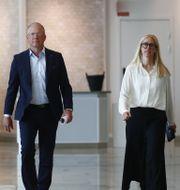 AB Volvos vd Martin Lundstedt vid intervju om delårsrapport Thomas Johansson/TT / TT NYHETSBYRÅN
