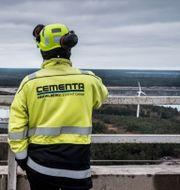 Cementas fabrik i Slite. Magnus Hjalmarson Neideman / SvD / TT / TT NYHETSBYRÅN
