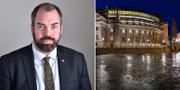 Justitieutskottets ordförande Fredrik Lundh Sammeli (S) TT