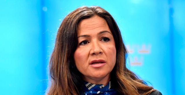 Gulan Avci (L).  Jessica Gow/TT / TT NYHETSBYRÅN