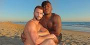 Den bild som Corey O'Brien, till vänster, och Ryan Russell har lagt ut på Instagram. Corey O'Brien/Ryan Russell