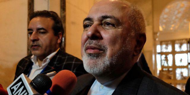 Irans utrikesminister Mohammad Javad Zarif. ALASDAIR PAL / TT NYHETSBYRÅN