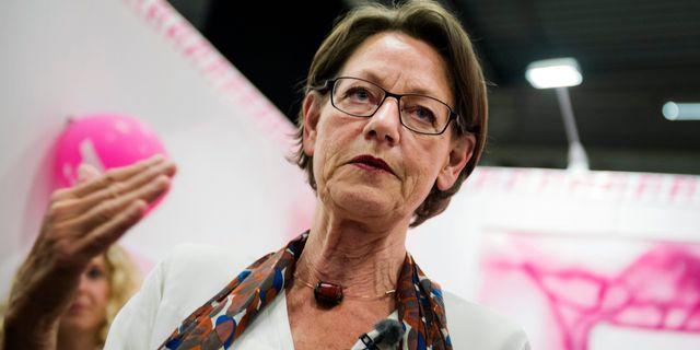 Gudrun Schyman. Vilhelm Stokstad / TT / TT NYHETSBYRÅN
