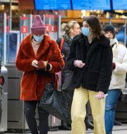 Bild från Stockholm, 7 januari.  Jessica Gow / TT NYHETSBYRÅN