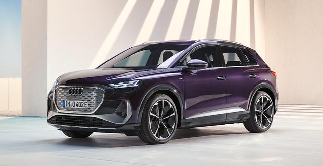 Nu finns Q4 e-tron p åden svenska marknaden Foto: Audi